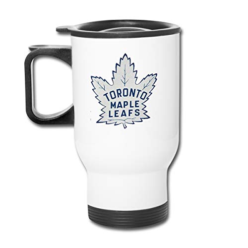 Hockey-Logo-Toronto-Maple-Leafs Travel Mug Vacuum-Insulated Stainless Steel Easy-Clean Lid