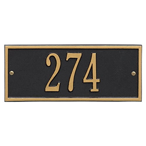 Customized Hartford Mini WALL Address Plaque 1 Line 11