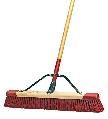 Harper Brush 7324A 24'' Wet or Dry Push Broom - Indoor/Outdoor