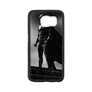 The Dark Knight Batman Samsung Galaxy S6 Cell Phone Case White Delicate gift JIS_241717