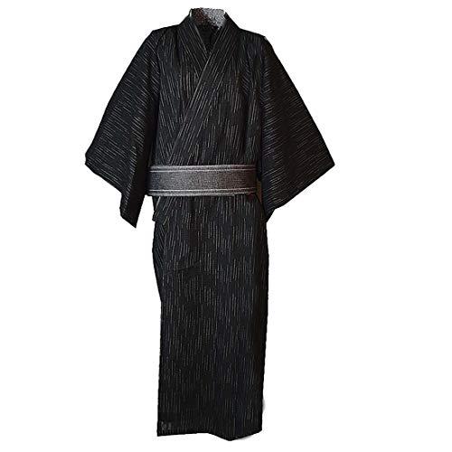 MAYSONG Men's Japan Kimono Yukata Set