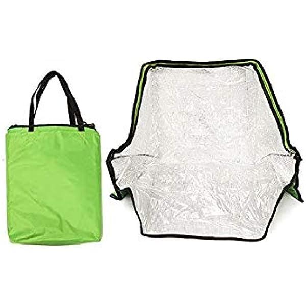 Bolsa de horno portátil y solar verde para cocinar al aire ...