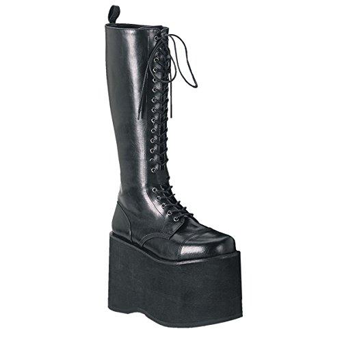 Demonia Mega-602 - Gothic Plateau Stiefel Schuhe 36-45