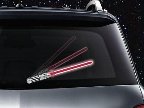 Limpiaparabrisas Trasero Accesorio Espada de luz rojo