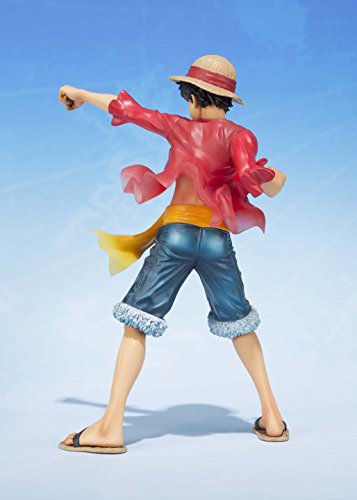 "Bandai Tamashii Nations Figuarts Zero Monkey D. Luffy -5th Anniversary Edition- ""One Piece"" Action Figure"