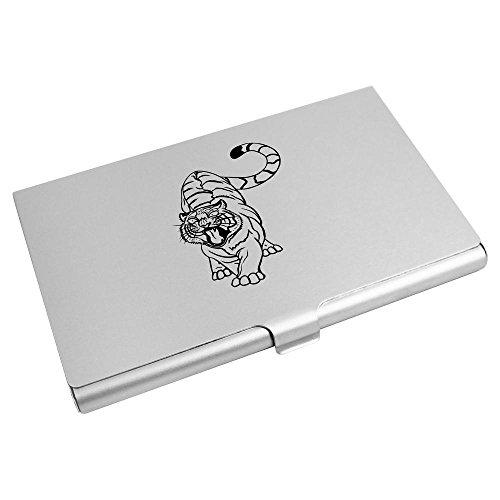 Wallet Tiger' Card Credit Business Holder Card Business Holder 'Angry 'Angry CH00004156 Tiger' Card 6Bw6txcqPf