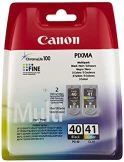 Canon Ink Cartridge Canon Cl41 P40 Black And Colour Multipack Pack Of 2 Bürobedarf Schreibwaren