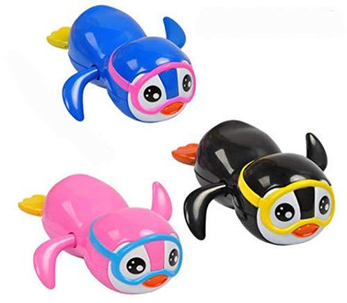 Angel Children's Bath Toys Baby Bathroom Toys Spray Water Small Turtle Shower Clockwork Toy (Clockwork Cool Travel Penguin)