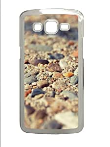 Samsung Grand 7106 Case, Samsung Grand 7106 Cases -Beach Stones Macro PC Hard Plastic Case for Samsung Grand 2/Samsung Grand 7106 Transparent