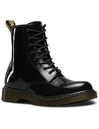 Dr.Martens Kids Delaney Sparkle Leather Boots