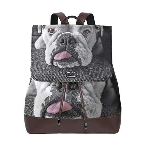 Backpack, Travel Bag, School Bag, Shopping Bag, Storage Bag For Men Women Girls Boys Personalized Pattern Naughty Dog ()