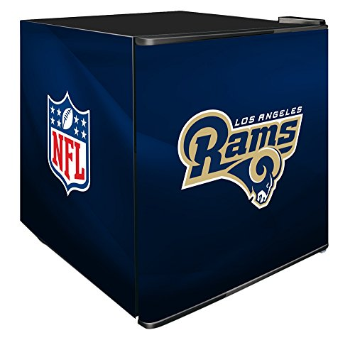 NFL St. Louis Rams Refrigerated Counter Top Cooler, Small, Blue by SG Merchandising Solution