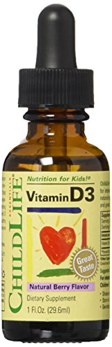ChildLife Essentials - Vitamin D3 Mixed Berry 1 oz [Health and Beauty]
