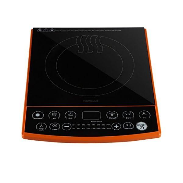 Havells Insta Cook ET-X Induction Cooktop, Black