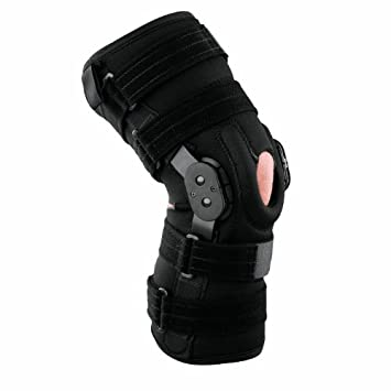 9cfedb7259 Image Unavailable. Image not available for. Color: Breg RoadRunner Knee w/Adjustable  Horseshoe (Medium)