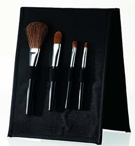 Amazon.com: Danielle Black Makeup Brush Set, 0.06-Pound ...