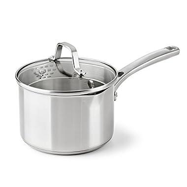 Calphalon Classic Stainless Steel Cookware, Sauce Pan, 2 1/2-quart