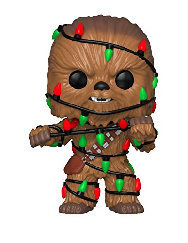 Funko Pop Star Wars: Holiday – Chewie with Lights Collectible Figure, Multicolor