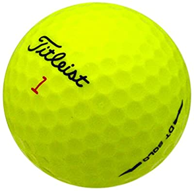 Titleist DT Solo Yellow AAAAA Pre-Owned Golf Balls