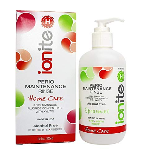 (In Home 0.63% Stannous Perio Rinse Spearamint 10 OZ Anti Cavity Rinse)