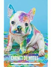 Carnet de notes: Chien I Chiot I I Cahier de Notes I Cahier I Notebook I Animaux I Idée de cadeau I Format 6 x 9 Po I 100 pages
