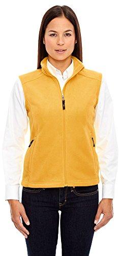 - Ash City Core 365 Ladies Journey Fleece Vest, Small, Campus Gold 444