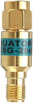 2W 2 Watts SMA Male to Female DC-6.0GHZ 50ohm Stainless Steel RF coaxial Power Reducer Blocker 2W, 5db RF Attenuator