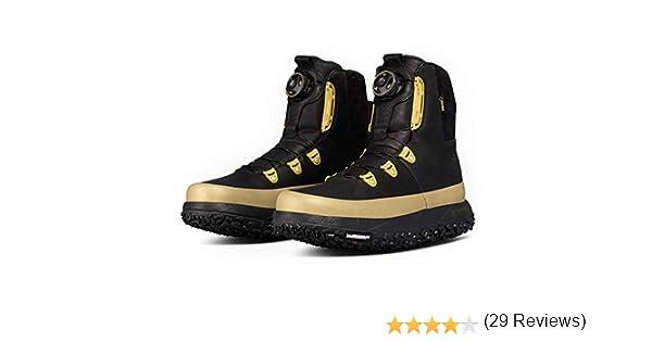 Under Armour Fat Tire Govie Boa Botas de senderismo para hombre, Negro (Negro/Dorado metálico), 42 EU: Amazon.es: Zapatos y complementos