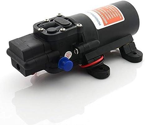 HNIWDJ DC 12V Water Pressure Self-Priming Diaphragm Pump for Caravan//RV//Boat//Marine Boat