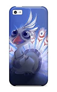 MEIMEIFor ipod touch 4 Protector Case Lord Shen Peacock Phone CoverLINMM58281