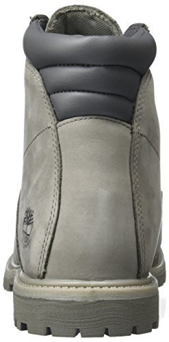 Waterville steeple 6 Bottes Inch Timberland Grey Basic Waterproof Gris Femme 7Hd4nOfqn