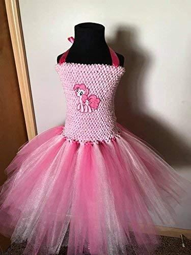 My Little Pony Pinkie Pie Tutu Dress Up Costume (4T - 7y) ()