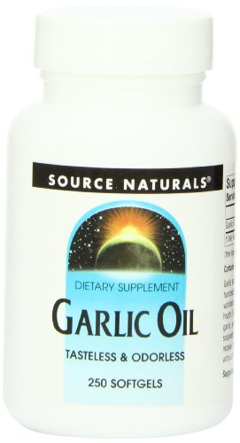 Source Naturals Garlic Oil 500 Mg 250 Softgels