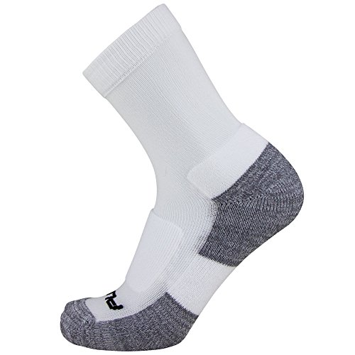 Pure Athlete Crew Comfort Padded Walking Socks – Everyday Ultra-Comfortable Anti-Blister Walker Socks – DiZiSports Store
