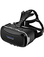 """VR Headset Virtual Reality headsets Head-Mounted Headband 4.0""""-6.0"""" inches Smart Cellphones (VR-203)"""