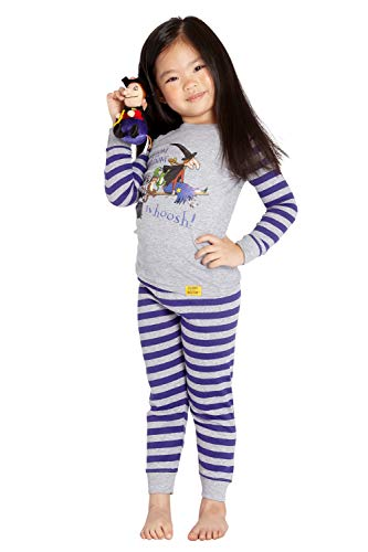 Room on The Broom 'Whoosh Witch Broomstick' Cotton Costume Pajama Set
