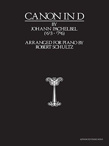 Price comparison product image Canon in D: Advanced Piano Solo,  Sheet