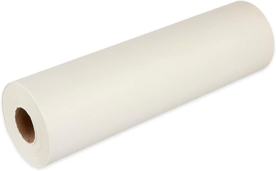 Rollo de papel para hornear Repuesto de pergamino blanqueado. pergamino Blanco 40 cm