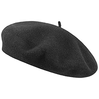 OzStore Wool Beret Womens Hat Classic French Style - Black