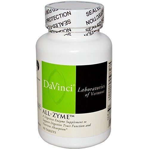 (DaVinci Laboratories of Vermont, All-Zyme, 90 Tablets -)