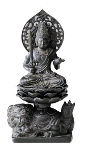 文殊菩薩 古美青銅 15cm B00JGM0AKI 15cm|古美青銅 古美青銅 15cm