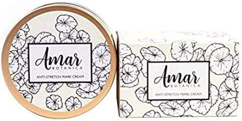 Amar Botanica Anti-Stretch Mark and Removal Cream   OBGYN Recommended & Safe for Pregnancy and Nursing   Doctor Formulated   Vegan, Paraben-Free, Organic Formulation
