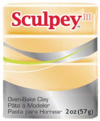 Sculpey Art Clay III, Jewelry Gold (S302 1132)