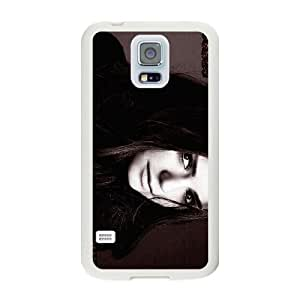 Generic Fashion Hard Back Case Cover Fit for Samsung Galaxy S5 Cell Phone Case white The Vampire Diaries SEU-4107251