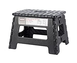 Stout Stuff Csstepstl Assorted Folding No Slip Step Stool