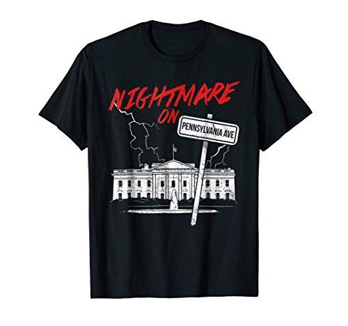 Nightmare on Pennsylvania Shirt Halloween Trump Costume Tee ()
