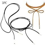 Long Lariat Y Chain Necklace Set Simple Bohemia Multilayer Pendant for Women