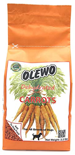 Olewo Dehydrated Carrots Dog