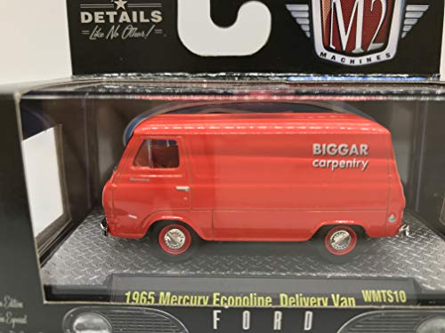 M2 Machines Ford 1965 Mercury Econoline Delivery Van WMTS10 17-76 Red Details Like NO Other! 1 of 7800