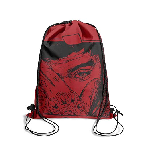 Brookefghgsh Drawstring Bag Cool Nylon Sackpack Sack Bag Drawstring Bag (Zayn Malik Calendar)